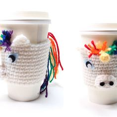 Best Crochet Coffee Sleeve Products on Wanelo