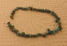 17 Strand of Drilled Turquoise Nuggets by JCAtticTreasures on Etsy