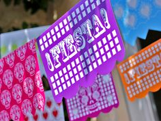 Printable fiesta party