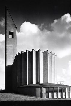 Opstandingskerk (1956) in Amsterdam, the Netherlands, by Marius Duintjer