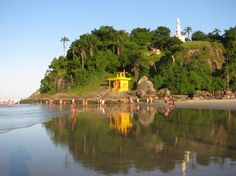 Morro do Cristo em Guaratuba - Guaratuba, Parana