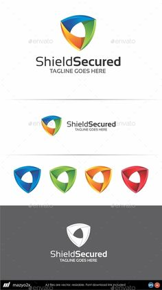 Shield Logo Template (AI Illustrator, Resizable, CS, 3d, accounting, business, capital, colorful, commercial, concept, consulting, corporate, creative, dynamic, finance, financial, insurance, internet, investment, logo, marketing, media, modern, money, multimedia, professional, profit, protection, secure, security, software, technology, trade)
