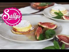 Käsekuchenmuffins mit Feige, Minze & Honig / fruchtig, cremig, einfach, lecker! 20.02.15 - YouTube