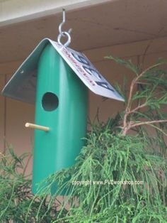 This fun PVC Birdhouse is easy to make in just a couple hours, or so. Assemble one or several… your fine feathered friends will love their new home!