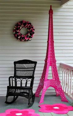 Paris Birthday Party Ideas! See more party ideas at CatchMyParty.com!