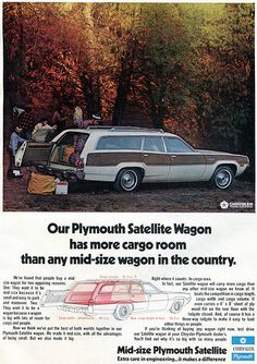 1973 Plymouth Satellite Wagon Advertising Outdoor Life April 1973   Flickr - Photo Sharing!