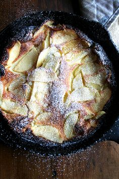 Yes, yes yes! Check out this @alexandracooks #recipe for apple pancakes made with #milk.