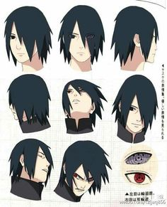 Sasuke and I HATE HIS HAIR OMG ITS HORRIBLE