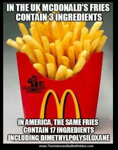 McPoison ... Its clearly not mcdonalds fault. Its our government.   ---  Yes, the government should do better, but don't be in such a hurry to let McMillions off of the hook.  They know what they are doing.