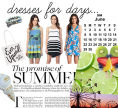 Monday Mood Board {Summer Dresses}