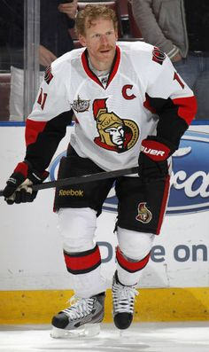 Alfredsson 'excited to get ready' for season - Ottawa Senators - Features Ice Hockey Teams, Nfl Fans, National Hockey League, Sports Pictures, Get Ready, Ottawa, Athletes, Nhl, Motorcycle Jacket