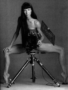 Sylvie Guillem, photographer and subject.