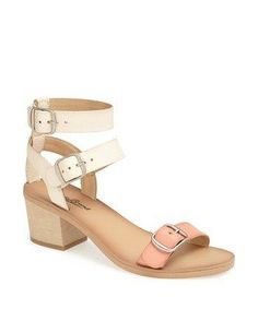 45 Pairs Of Walkable, Low-Heeled Sandals At Every Price: Iness Sandal, $34.97, lucky brand, nordstrom.com