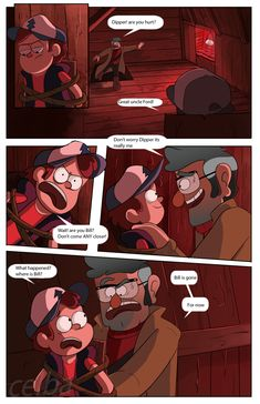 Gravity falls: 3 days Page 6 by celba-art on DeviantArt Gravity Falls Cipher, Gravity Falls Codes, Gravity Falls Theory, Gravity Falls Funny, Cartoon Games, Cartoon Shows, Fall Memes, Raise The Dead, Billdip