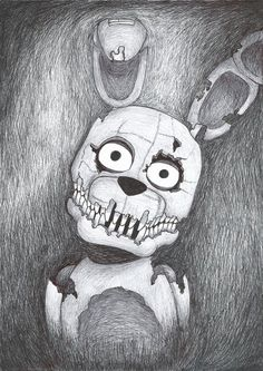 Plushtrap by Szpnia on DeviantArt.com ---GUYS check her out! she's awesome!!
