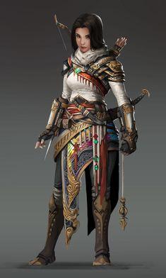 Assassin's Creed fan art design, Gao Xu on ArtStation at https://www.artstation.com/artwork/VKX4X