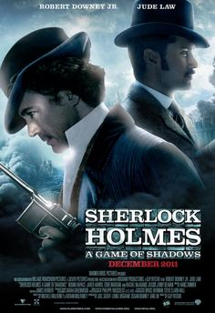 sherlock holmes movie poster | Movie Review: SHERLOCK HOLMES - GAME OF SHADOWS Is Bad, My Dear Watson