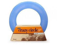 Crazy Circle Cat Toy Large >>> Click image to review more details.