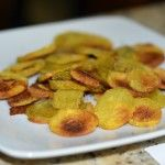 Receita do dia: Chips de batata doce