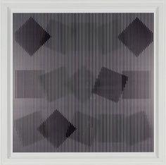 Alberto Biasi -  Rolling Squares, 2000