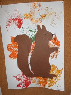 .:MŠ Na Kopečku - Teplice:. Spring Theme, Autumn Theme, Squirrel Art, Friend Crafts, Preschool Crafts, Projects To Try, Hobbit, Halloween, Animals
