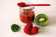 Nuss Nougat Creme, Kiwi, Dessert, Strawberry, Vegetables, Fruit, Recipes, Food, Handmade