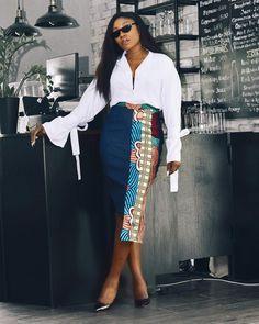 Rock these sexy and classy Latest Ankara Office Wear Designs And Styles Of 2018 #ankara #ankarastyles #asoebi #asoebibella #asoebispecial #africanfashion #jackets #officefashion