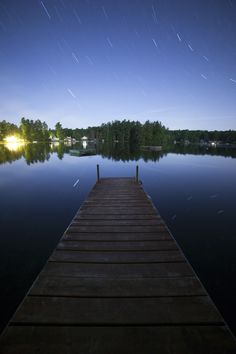 Belgrade Lake Starscape
