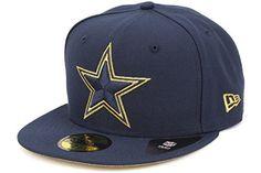 New Era Dallas Cowboys Super Bowl XXX Gold Team Logo Fitted Cap, 7 3/8