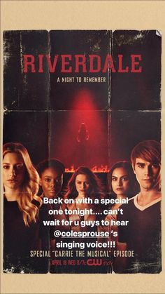 Follow me for more Riverdale⭕