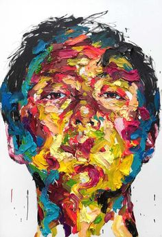 KwangHo Shin Paints Raw, Distorted Portraits That Expose The Complexity Of Human Emotion
