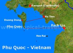 Phu Quoc_Rach Gia Karte