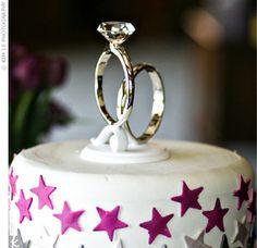 Diamond Ring Cake Topper Hobby Lobby