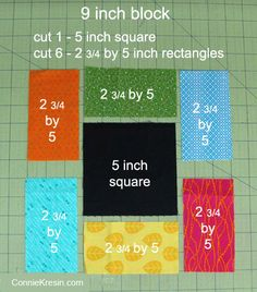 Sewing Block Quilts Midnight Glow Quilt Tutorial - Today I am sharing a tutorial for a small quilt called Midnight Glow. It is fast and easy to make, I have also included measurements to make the block in other sizes. Beginner Quilt Patterns, Patchwork Quilt Patterns, Quilt Patterns Free, Pattern Blocks, Beginner Quilting, Patchwork Baby, Owl Patterns, Free Pattern, Jellyroll Quilts
