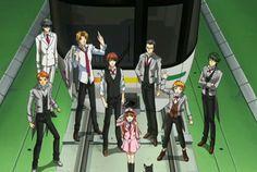 Fumi Roppongi, Tokugawa, Iku Shiodome, Saki Tochou, Rintarou Shinjuku, Izayoi Tsukishima, Itsumi Ryougoku, the Conductor & Akari (Miracle Train: Oedo-sen e Youkoso)