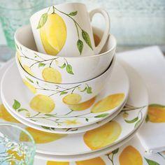 Lemon Dinnerware Collection | Sur La Table