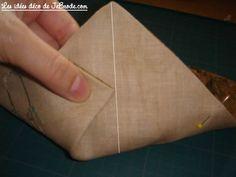 JeBrode.com: Une petite bourse vide-poche en origami