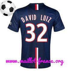 Maillot PSG David Luiz 32 Domicile 2014 2015 http://www.maillot-france.org/nouveau-flocage-maillot-psg-david-luiz-32-domicile-2014-2015-bleu-vcou-fly-emirates-p-5197.html