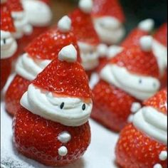 Strawberry Christmas ... even I can do this!
