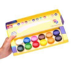 Farby plakatowe są farbami wodnymi, kryjącymi o czystych i intensywnych barwach. Farby plakatowe dobrze mieszają się ze sobą, tworząc nową gamę kolorystyczną. Ze względu na znakomitą przyczepność, nadają się do malowania na takich podłożach jak: papier, karton, drewno, ceramika, kamień. Farby dobrze rozprowadzają się po malowanej powierzchni nie zostawiając śladów pędzla. Wymalowane powierzchnie po wyschnięciu są matowe o intensywnych barwach, odporne na działanie światła i ścieranie. Aster, White Out Tape, Paper Board