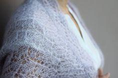 Items similar to Pearl grey hand knitted lace wedding bolero/ shrug on Etsy Spring Ahead, Spring Time, Lace Knitting, Knit Crochet, Lace Wedding, Wedding Bolero, Vintage Ladies, Vintage Woman, Romantic Girl
