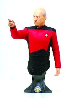 Titan Merchandise Star Trek: Captain Jean-Luc Picard Mini-Bust @ niftywarehouse.com #NiftyWarehouse #StarTrek #Trekkie #Geek #Nerd #Products