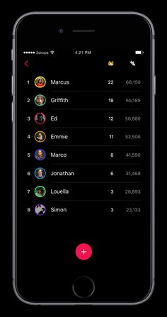 Leaderboard designed by Simon Gustavsson. Connect with them on Dribbble; Daily Ui, Mobile Ui, Homescreen, Ui Design, Case Study, Game Ui, Digital, Notebook, Medium