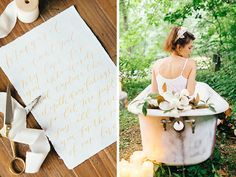 Honey & Magnolia Wedding Inspiration