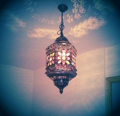 Nueva adquisicion. Lampara para recibidor, preciosa. New Georgous lamp on my hall