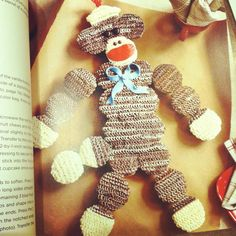 I am making this for Zackary's 1st birthday instead! I love a good sock monkey :)