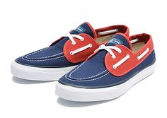 【SPERRY TOP-SIDER】 スペリー トップサイダー SEAMATE シーメイト 13505849 SP13 NAVY/RED 7(25)
