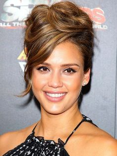 14 Best Updos For Hair With Bangs Images Hair Down Hairstyles Up