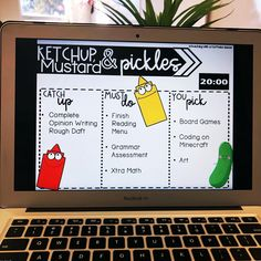 20 minutes of ketchup and pickles time on a Friday is a MUST! My students love h. 20 minutes of ketchup and pickles time on a Friday is a . Classroom Procedures, Classroom Behavior, Classroom Activities, Classroom Organization, Classroom Management, Behavior Management, Middle School Management, Classroom Expectations, Management Tips
