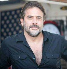 The Walking Dead's Negan or Jeffrey Dean Morgan